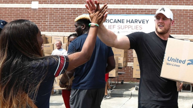 Texans Star JJ Watt's Hurricane Harvey Effort Raises $41.6M