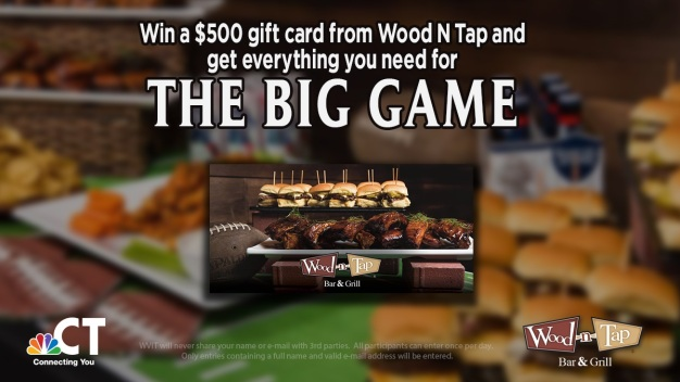 Wood-N-Tap's Big Game Giveaway