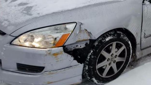 Driver Says She Was Injured After State Slow Plow Hit Car