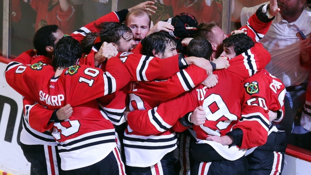 Chicago Beats Tampa Bay 2-0 to Win Stanley Cup