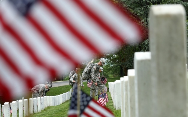 WATCH: Obama Speaks at Arlington National Cemetery