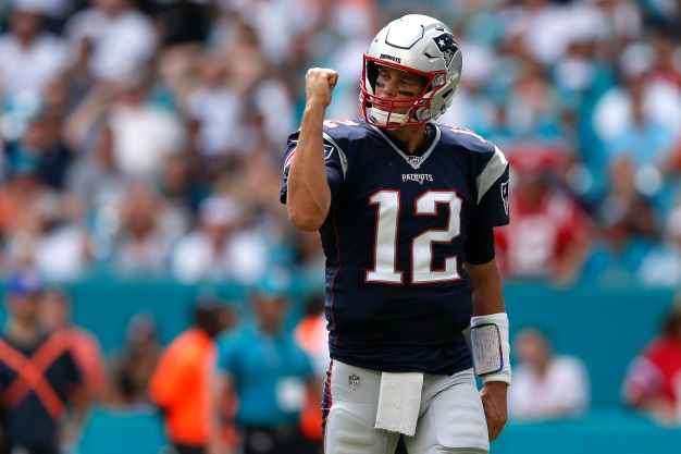 Patriots Steamroll Dolphins on South Beach