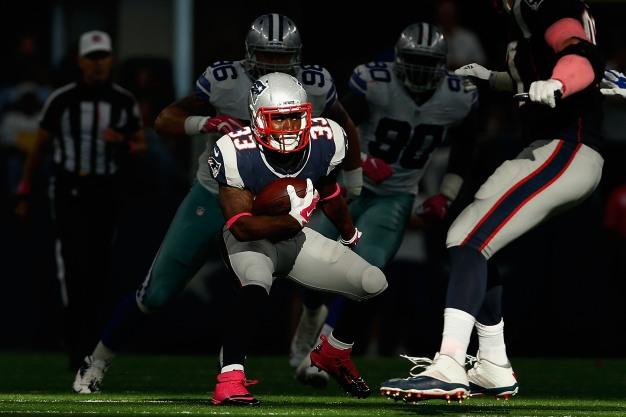 Patriots Running Back Dion Lewis Nearing Return