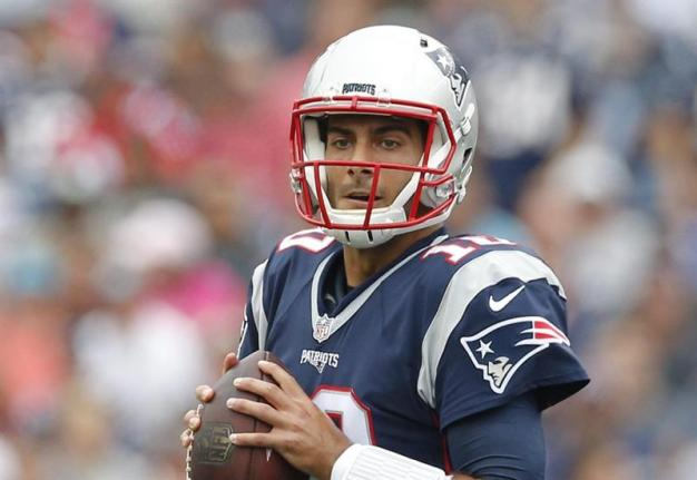 Patriots List Garoppolo as Doubtful; Will He Play Thursday?