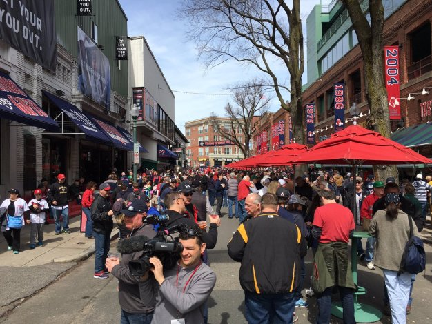 Red Sox Want to Change Name of Yawkey Way