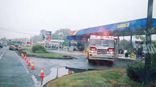 East Windsor Gas Station Closed Due to Fuel Spill