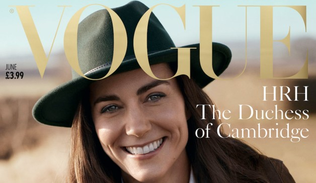 Duchess Kate Graces Cover of British Vogue