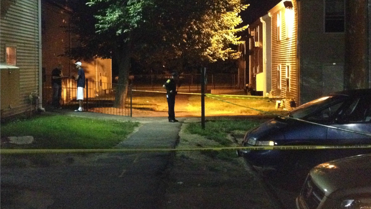 Hartford police are investigating an overnight shooting on Wadsworth Street.