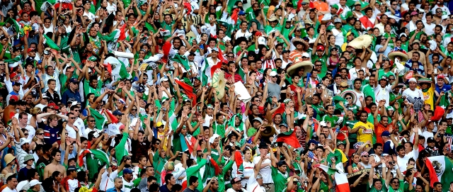 July 27, 2009: 70,000 USA vs. Mexico Fans Can't Be Wrong