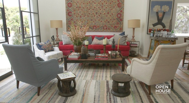 Designer Tour: Inside Kathryn Ireland's Home with Elle Decor