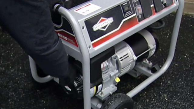 Storm Safety:  How to Use a Generator