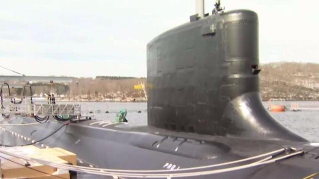 Navy's New Attack Submarine Named Colorado Joins the Fleet