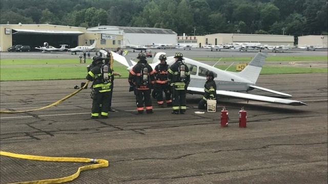 Plane Safely Lands After In-Flight Emergency in Danbury