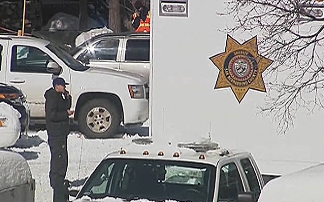 Police resumed their search for Christopher Jordan Dorner on Saturday, Feb. 9, 2013. Dorner, a former Los Angeles police officer, is accused of carrying out a killing spree because he felt he was unfairly fired from his job.