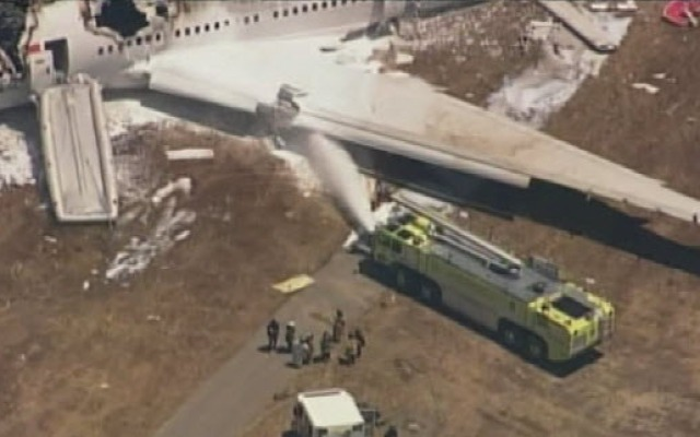 A San Francisco fire rig may have played a role in the death of one of the teenage victims in Saturday's Asiana Airlines Flight 214 crash at San Francisco International Airport.