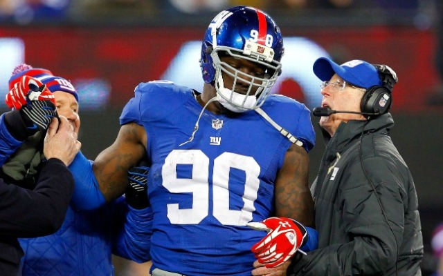 Pierre-Paul's the backbone of the defense, so Coughlin wants to see less of a belly.
