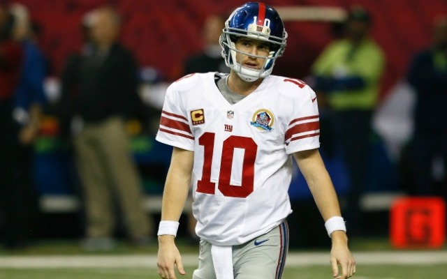 The only consistent thing about Eli in 2012 is that he's wildly inconsistent.