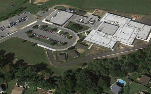 Aerial view of North County High School (Photo: Google Earth)