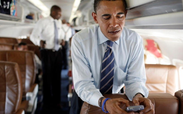 Text President Barack Obama, and he just might text you back.