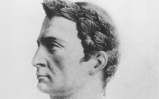 A sketch of Julius Caesar.