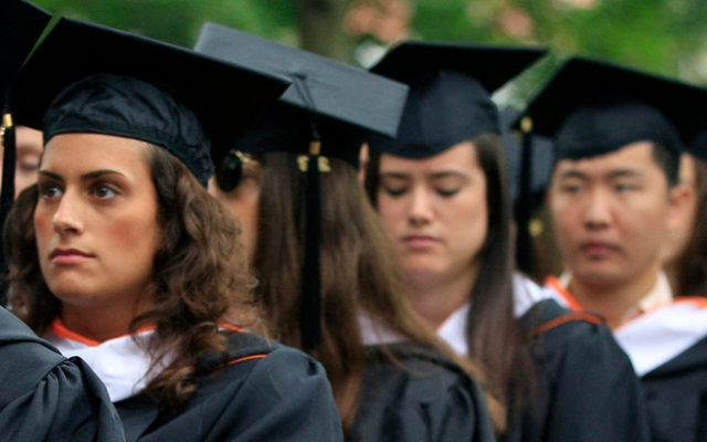 Susan Patton wrote an op-ed for The Daily Princetonian urging female students to find a husband.