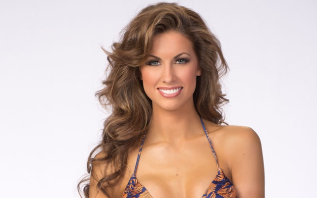 Before Miss Alabama USA Katherine Webb captured the heart of Alabama's QB AJ McCarron and fans everywhere, she had already dazzled the crowd in the Top Ten at last summer's Miss USA.