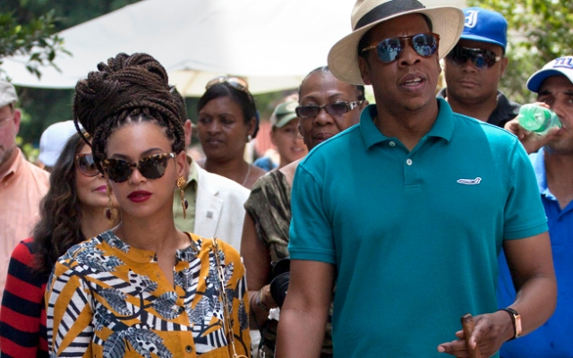 Two Republican congressmen are curious about the hip hop power couple's recent trip to Havana.