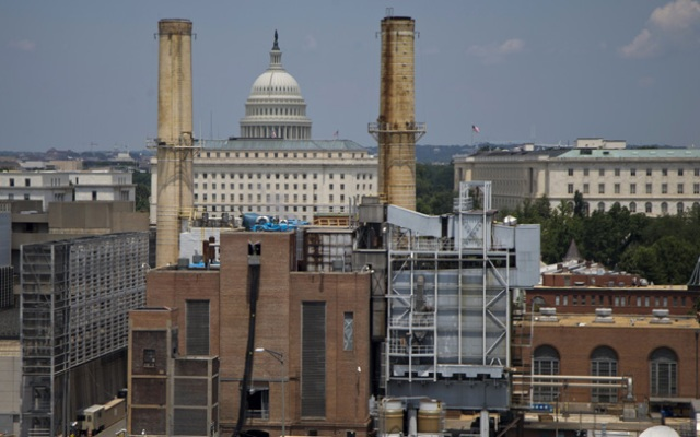 The Capitol Dome is seen behind the Capitol Power Plant in Washington, Monday, June 24, 2013. The plant provides power to buildings in the Capitol Complex. President Barack Obama is running out of time to make good on his lofty vow to confront climate change head-on, and Congress is in no mood to help. The executive actions and regulations Obama announces Tuesday will take years to implement.