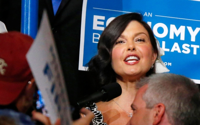 Actress Ashley Judd, pictured here at the 2012 Democratic National Convention, won't run for Senate, she said Wednesday on Twitter.