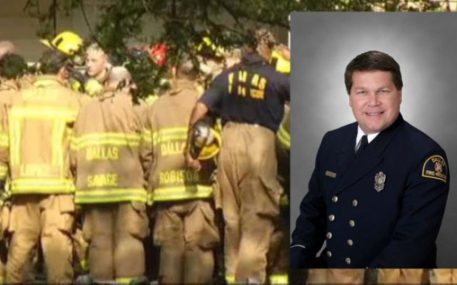 Fallen Dallas Fire-Rescue firefighter has been identified as Stanley Wilson, a 28-year veteran with the department. He is survived by his wife and two sons according to Chief Bright III.
