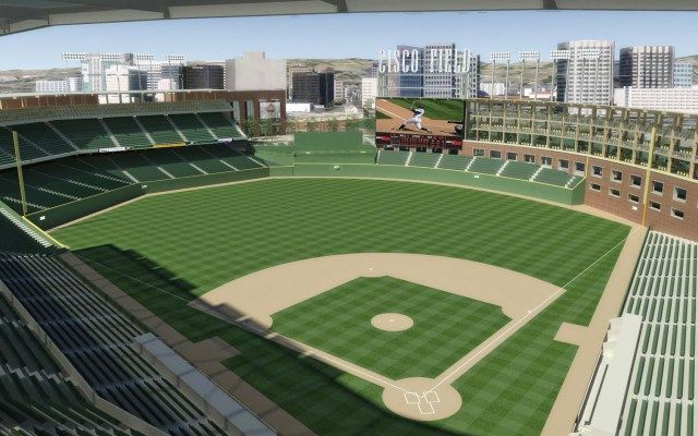 This is a rendering of the proposed San Jose stadium.