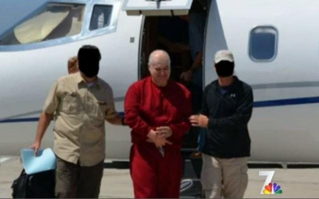 Eduardo Arellano-Felix on Aug. 31, 2012, the day he was extradited to the U.S.