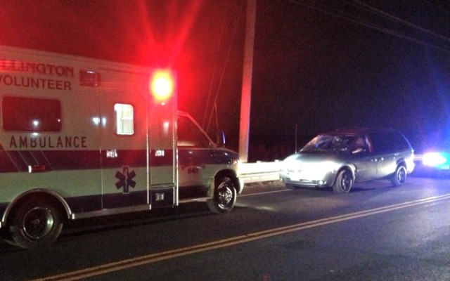 Police responded to a pedestrian struck by a car Wednesday afternoon