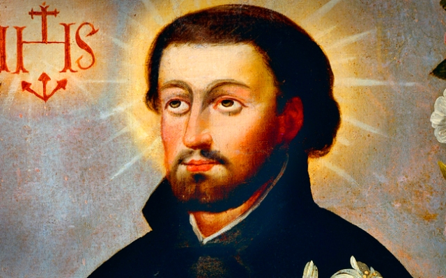 St. Francis Xavier was one of the founding members of the Society of Jesus, more commonly known as the Jesuits.