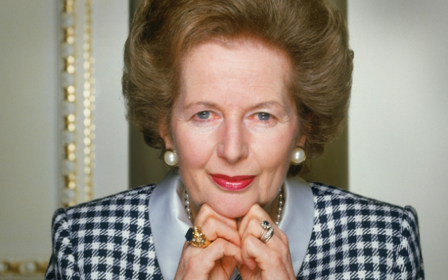 Margaret Thatcher, British Conservative Prime Minister from 1979 to 1990, circa 1990. (Photo by Terry O'Neill/Hulton Archive/Getty Images)