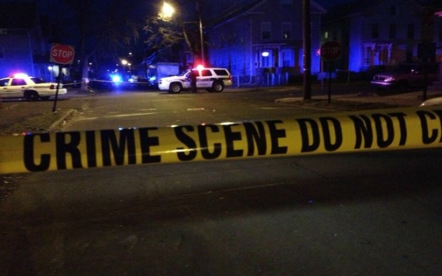 New Haven police are investigating a homicide in the area of Wolcott Street and Lloyd Street