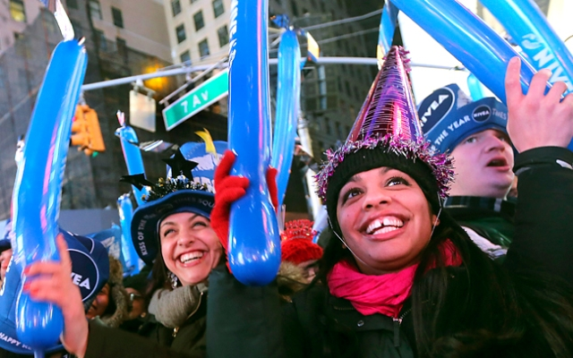 New Year celebrations happened around the world, culminating with the traditional crystal ball drop in New York City's Times Square, where one million people were stuffed into the surrounding streets. Click to see dramatic photos from New York and around the world.