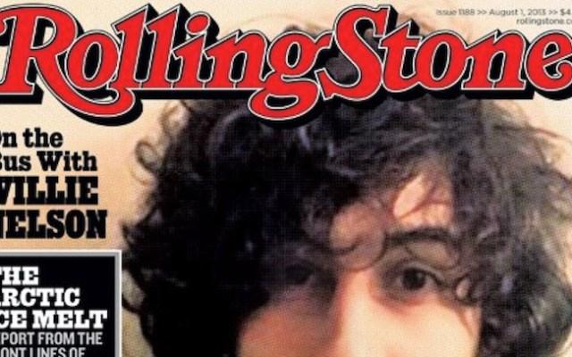 Dzhokhar Tsarnaev on the cover of Rolling Stone