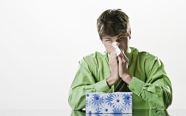 A high number of flu cases forces visitor restrictions at a local hospital.