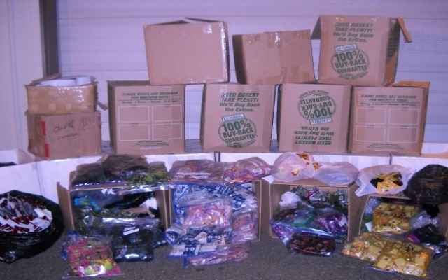 State Police seized over 30,500 bags of synthetic marijuana from a Manchester storage unit Friday night.