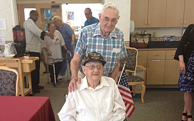 Philip Hopkins finally received the medals he earned on the battlefield during World War II, almost 70 years after the last shot was fired.