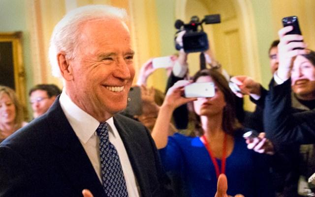 Staying: Vice President Joe Biden