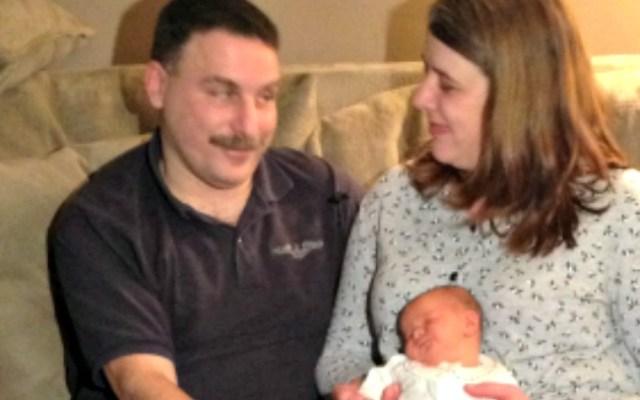 Elizabeth Judy Ambrosia was born Friday night in Norwich, outside of Backus Hospital.