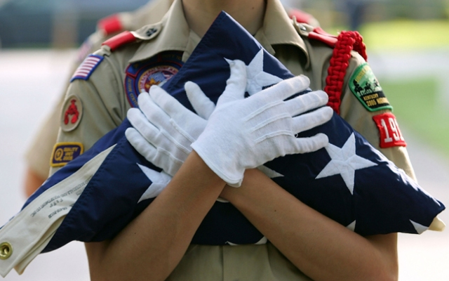 The Boy Scouts of America begin debating their anti-gay policy in Irving, Texas, on Monday.