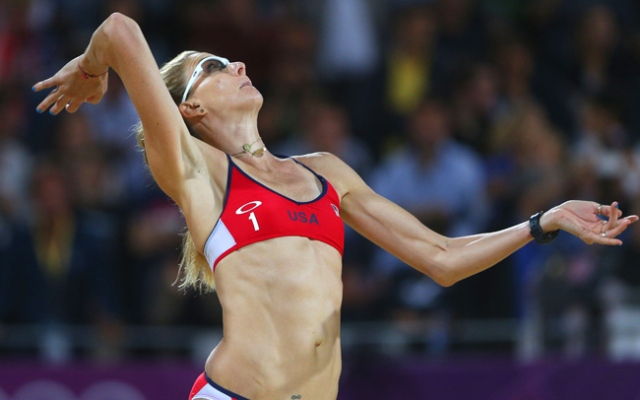 In an exclusive interview with NBC4, Kerri Walsh Jennings announced Tuesday, June 25, 2013, her plans to return to the sand and win a fourth gold medal.