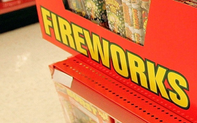 Two navy sailors have been charged with possession of fireworks in Connecticut.