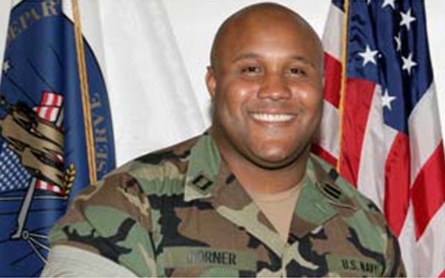 Former Los Angeles police officer and Navy reservist Christopher Jordan Dorner