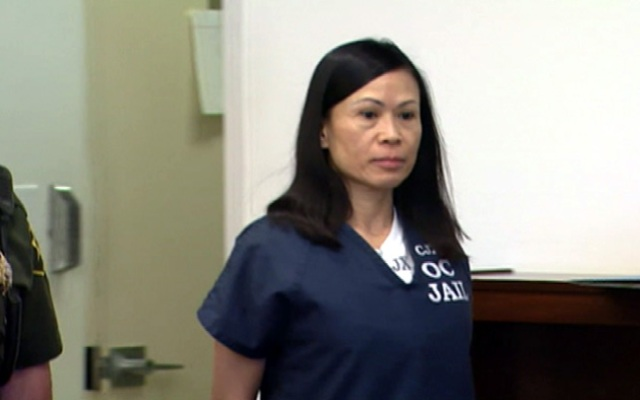 Catherine Kieu in court Friday June 28, 2013 during the sentencing phase of her trial.