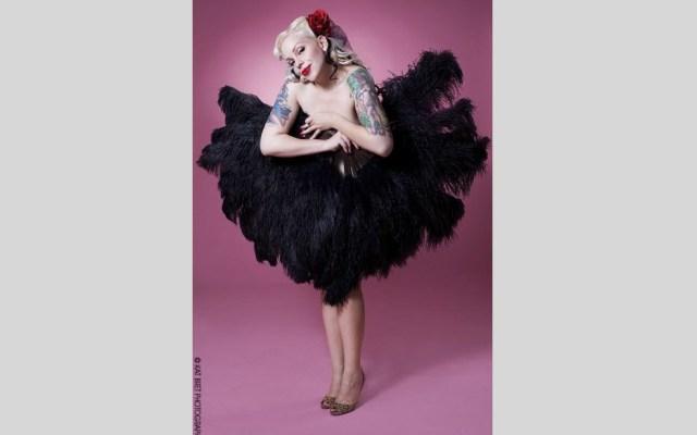 Sparkly Devil, born Sarah Klein, was a burlesque dancer at the Hubba Hubba Revue.