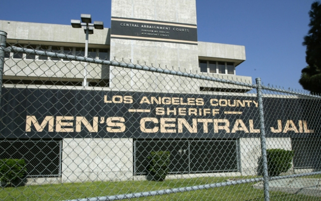 Men's Central Jail in downtown Los Angeles